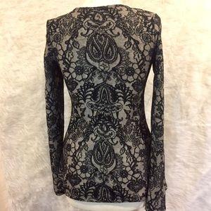 BKE Tops - BKE boutique sz. S lace detail blouse